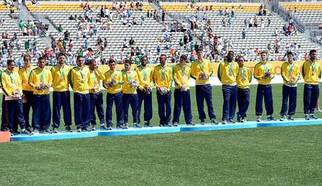 Time no Pan foi formado basicamente por jogadores que atuam no Brasil - Foto: Eric Bolte-USA TODAY Sports l Reuters