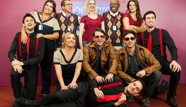 Divididos em grupos, os atores vão encenar uma história a cada semana - Foto: Caiuá Franco   TV Globo   Divulgação