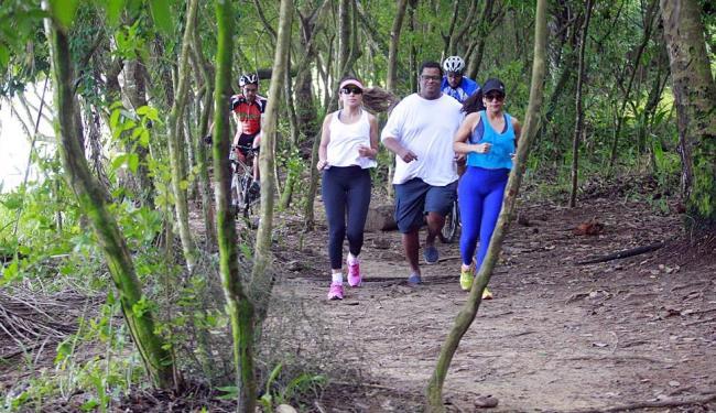 Equipe treina com Noelinda, Negrão, Tássia, Hugo e Sídio - Foto: Luciano da Matta | Ag. A TARDE