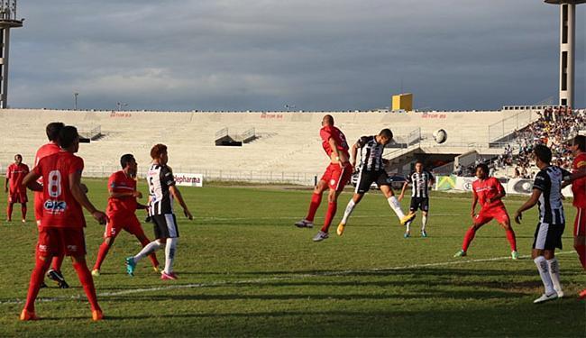 Serrano ficou no 1 a 1 com o Treze, no estádio Amigão - Foto: Divulgação l Treze F.C.