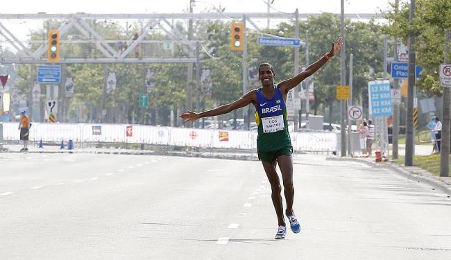 Ubiratan chegou em último lugar - Foto: Julio Cortez | AP Photo | 25.07.2015