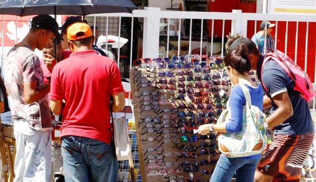 No Relógio de São Pedro, há opções de consulta em optometria e venda de óculos - Foto: Luciano da Matta | Ag. A TARDE