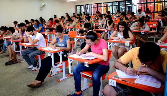 Neste domingo, 12, foi dia de provas de literatura, português, língua estrangeira e redação - Foto: Uefs   Divulgação