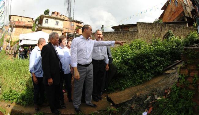 Rui Costa visitou local da obras - Foto: Manu Dias | GovBA