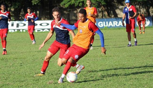 Vítor se destacou na Copa do Brasil Sub-20 e subiu para o profissional - Foto: Felipe Oliveira l EC Bahia