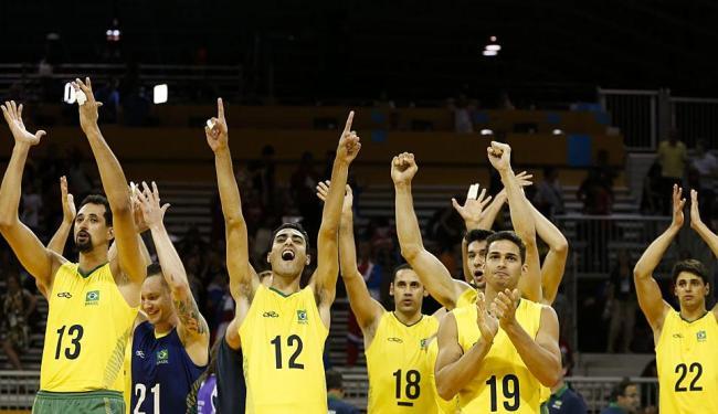 Brasil volta à quadra neste domingo, às 16h, para disputar o ouro com a Argentina - Foto: Felipe Dana   AP Photo   24.07.2015