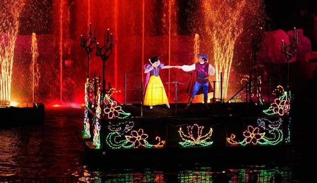 Espetáculo no parque Disney Hollywood Studios - Foto: David Roark | Divulgação