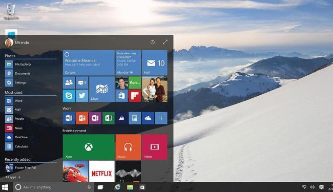 Windows 10 funcionará em laptops, desktops e smartphones - Foto: Divulgação