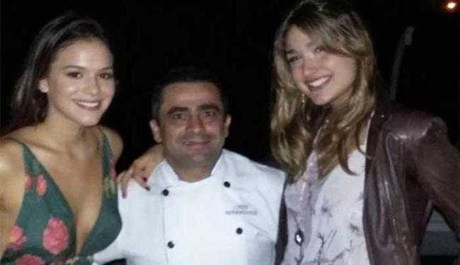 Bruna Marquezine foi uma das convidadas da festa da filha de Xuxa - Foto: Reprodução | Instagram | @chefmaradona