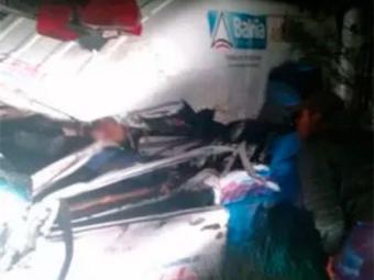 Vítima saiu de Gandu transportando pacientes - Foto: Reprodução | Voz da Bahia