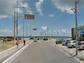 Crime aconteceu próximo aos monumentos das gordinhas - Foto: Reprodução | Google Maps