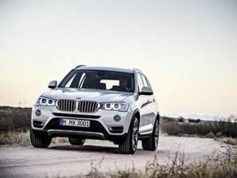 X3 é o quarto modelo feito no Brasil - Foto: Divulgação BMW