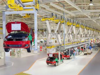 Produção recorde do Novo Fox - Foto: Divulgação Volkswagen