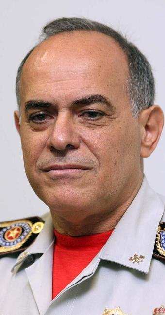Francisco Luiz Telles de Macêdo, comandante-geral do Corpo de Bombeiros Militares da Bahia - Foto: Marco Aurélio Martins | Ag. A TARDE | 18.08.2015