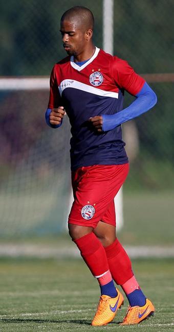 Hayner, de 19 anos, está há cerca de dois meses no clube - Foto: Felipe Oliveira l E.C. Bahia