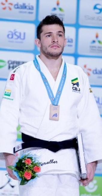 Penalber garantiu a segunda medalha do país na competição - Foto: Rafal Burza l CBJ