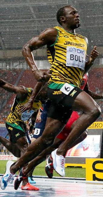 Em um ano no qual sofreu com lesões, Bolt espera brilhar no Mundial - Foto: Lucy Nicholson l Reuters