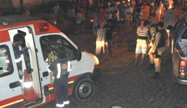 O Samu ainda foi encaminhado para o local, mas a mulher não resistiu aos ferimentos - Foto: Reprodução | Site Radar 64