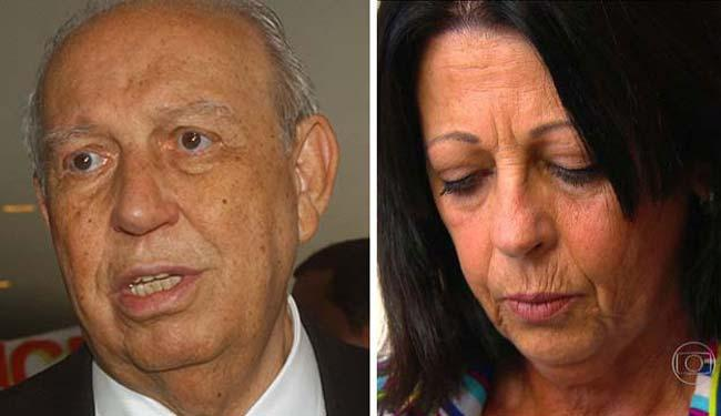 Alencar se recusou a fazer o teste de DNA - Foto: Elza Fiúza/ABr e Reprodução/TV Globo