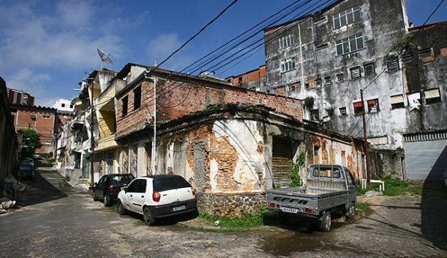 Casa de guerrilheiro comunista baiano, na rua do Desterro, Baixa dos Sapateiros - Foto: Luciano da Matta l Ag. A TARDE l 30.05.2013