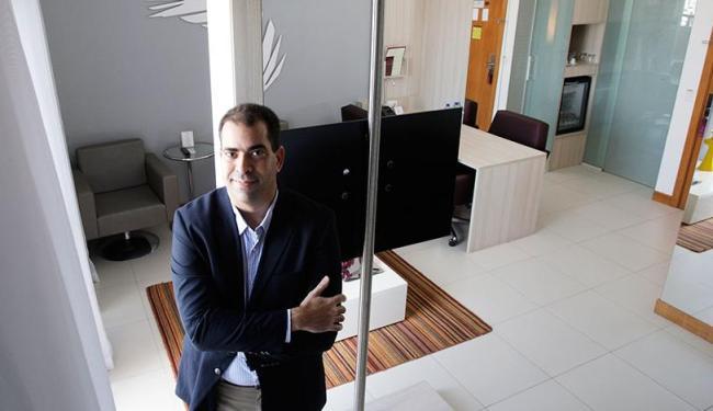 Daniel Sampaio no Apart-Service do Boulevard Side Residencial - Foto: Raul Spinassé   Ag. A TARDE