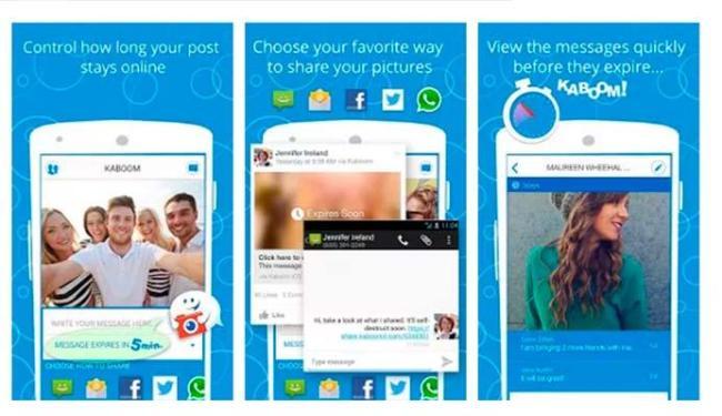 Aplicativo permite enviar mensagens que se autodestroem para Facebook e WhatsApp - Foto: Divulgação