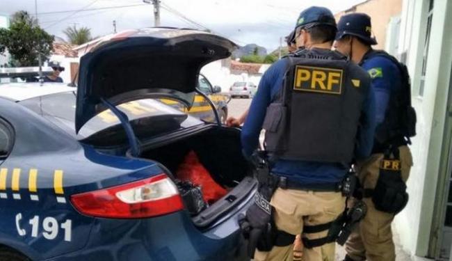 A apreensão fez parte da Operação Som Legal II do Grupo de Policiamento Tático da PRF - Foto: Divulgação | PRF
