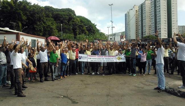 Servidores decidiram manter a paralisação de 48 horas - Foto: Divulgação | Astram