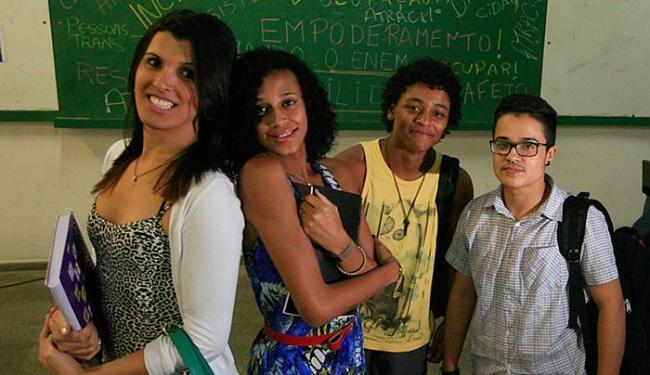Alunos participaram da aula inaugural na Faculdade de Educação (Faced), Canela - Foto: Lúcio Távora | Ag. A TARDE