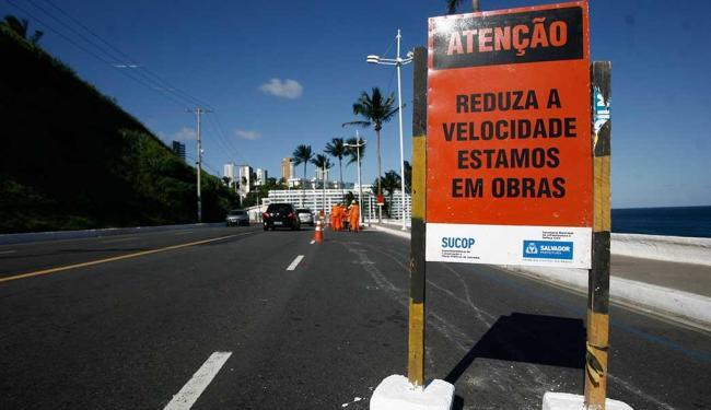 Obras integram segunda etapa de requalificação da Barra - Foto: Raul Spinassé | Ag. A TARDE