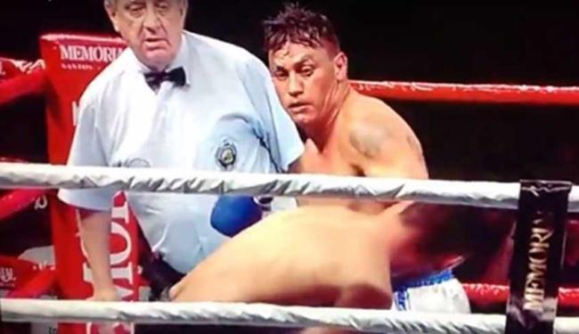 Popó venceu boxeador argentino no 3º round - Foto: Reprodução