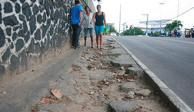 Problema afeta comunidade universitária, frequentadores e moradores do bairro - Foto: Fernando Amorim l Ag. A TARDE