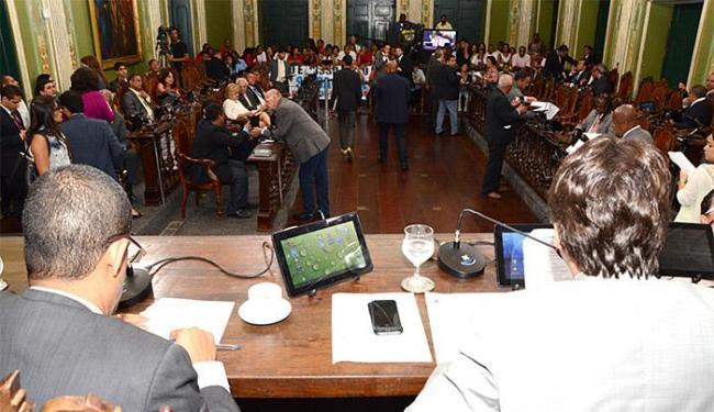 Câmara aprovou também a formalização do Conselho de Ética - Foto: Antonio Queirós l Câmara Municipal de Salvador