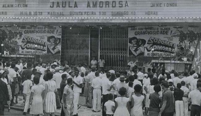 Cine Guarani lotava com os filmes trazidos por Pithon - Foto: Divulgação