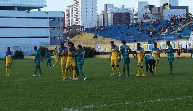 Equipe de Ilhéus foi surpreendida pelo Coruripe em casa - Foto: Divulgação l Colo Colo F.C