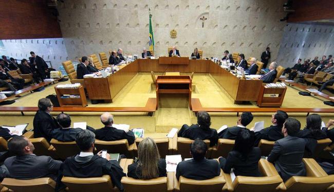 Na sessão, entidades se manifestaram contra e a favor a descriminalização - Foto: Nelson Jr.   SCO   STF