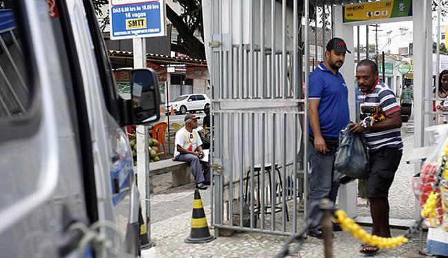 Em Feira de Santana, o detector está na praça Carlos Bahia, ao lado da igreja matriz - Foto: Luiz Tito l Ag. A TARDE l 05.08.2015