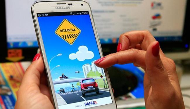 Quem baixar o Detran-BA Mobile também pode acompanhar resultados de exames - Foto: Mila Cordeiro l Ag. A TARDE