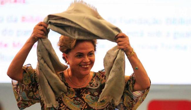 Dilma apresenta ferramenta digital que incentiva a participação popular - Foto: Lúcio Távora   Ag. A TARDE