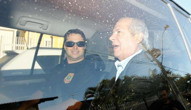 Dirceu foi preso pela Polícia Federal na casa onde mora, em Brasília - Foto: Dida Sampaio   Estadão Conteúdo