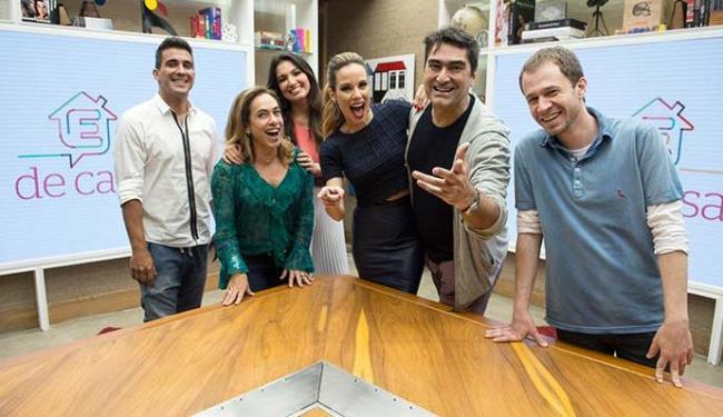 Programa terá, na estreia, seis apresentadores - Foto: Tata Barreto | TV Globo