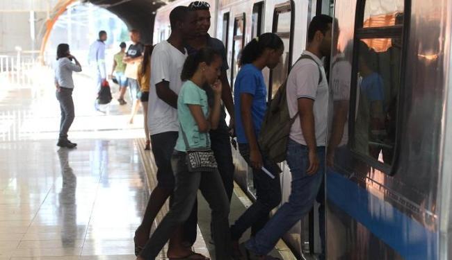 As estações Acesso Norte e Campo da Pólvora funcionarão na noite desta terça, 11 - Foto: Lúcio Távora | Ag. A TARDE