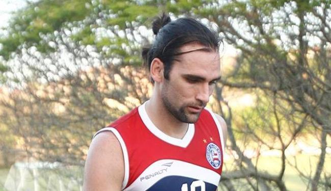 No tricolor, o atacante fez apenas 7 gols em 29 partidas - Foto: Fernando Amorim | AG. A TARDE