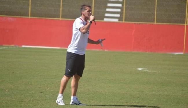 Vagner Mancini definiu a equipe que enfrenta o Ceará na Arena Castelão - Foto: Divulgação   E.C. Vitória