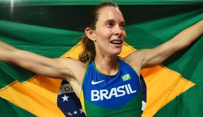Fabiana conquistou a sua quarta medalha em campeonatos mundiais - Foto: Dylan Martinez | Reuters