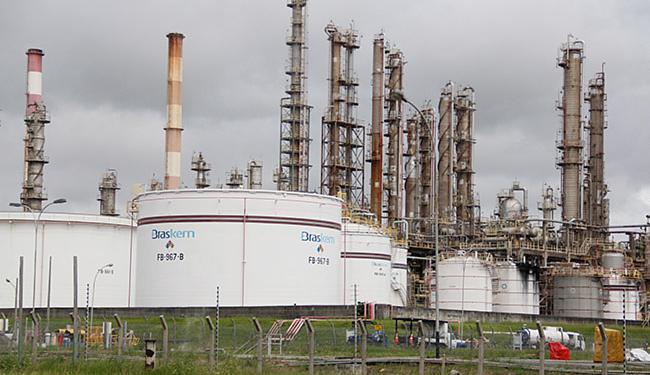 Fábrica da Braskem: companhia é líder mundial na produção de biopolímeros - Foto: Joá Souza l Ag. A TARDE l 17.07.20