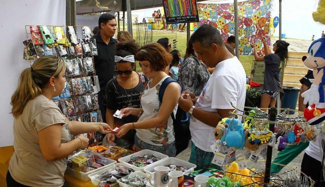 Evento funciona neste sábado, 8, das 9h às 18h, com 80 barracas - Foto: Eduardo Martins | Ag. A TARDE
