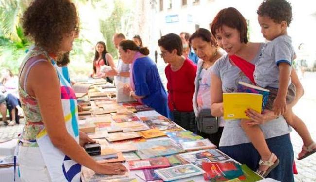 Feira literária tem lançamentos de livros, contação de história e outras atividades - Foto: Vitor Vogel | Divulgação