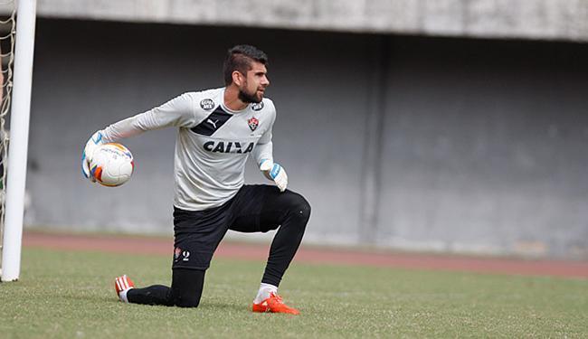 Fernando Miguel voltou a treinar normalmente, nesta quarta-feira, e jogará contra o Ceará - Foto: Joá Souza | Ag. A TARDE