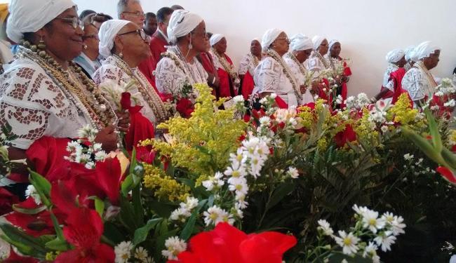 Irmãs na missa solene realizada na sede da Irmandade da Boa Morte - Foto: Luiz Tito | Ag. A TARDE